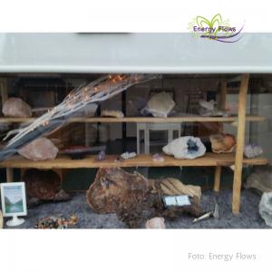Energy Flows - afb. etalage