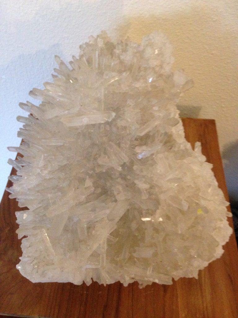 afbeelding Bergkristal 'Egel'